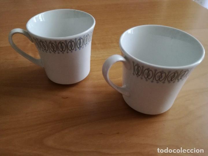 DOS TAZAS MARCA PONTESA (Vintage - Decoración - Porcelanas y Cerámicas)