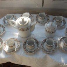 Vintage: JUEGO DE TÉ O CAFÉ DE PORCELANA FINA CHINA. 11 SERVICIOS.. Lote 98651151