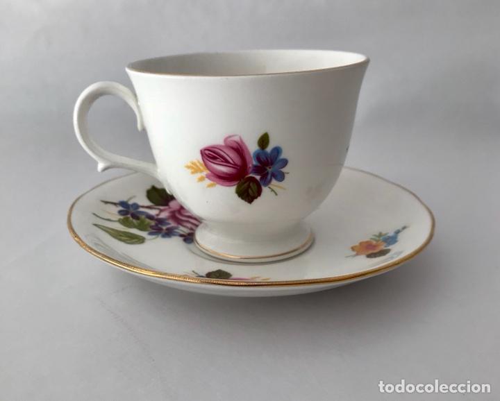 Vintage: Gainsborough Rosa rosa Vintage Bone China - Foto 6 - 99457511