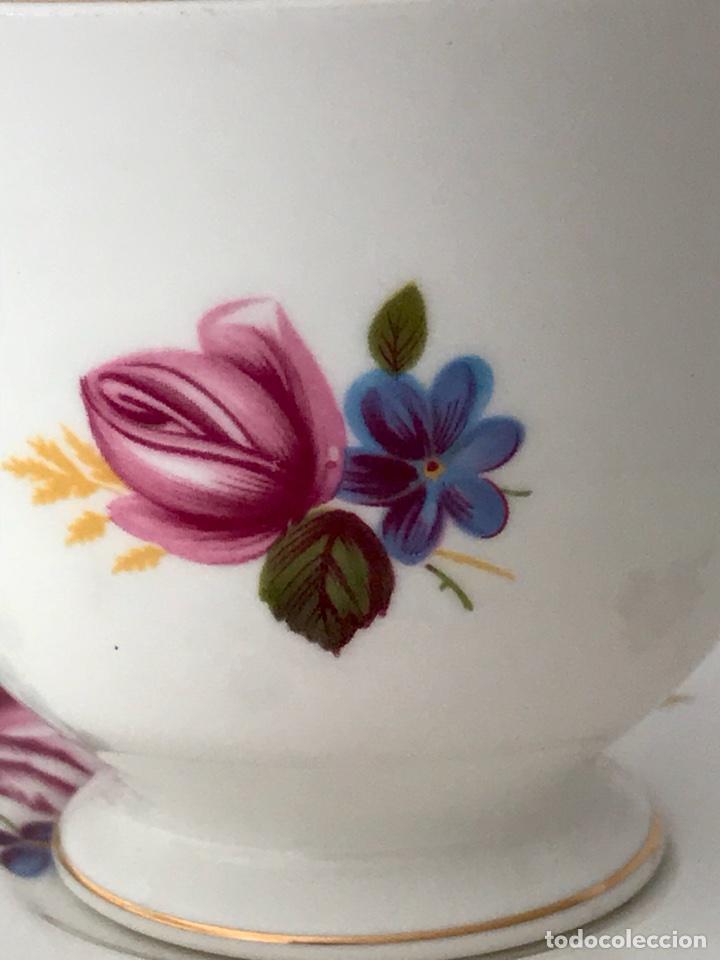 Vintage: Gainsborough Rosa rosa Vintage Bone China - Foto 7 - 99457511