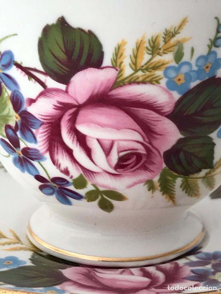 Vintage: Gainsborough Rosa rosa Vintage Bone China - Foto 9 - 99457511