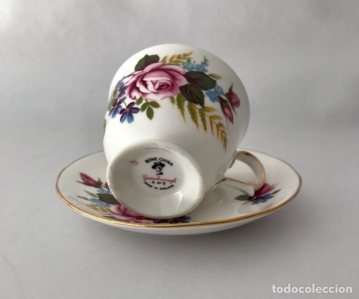 Vintage: Gainsborough Rosa rosa Vintage Bone China - Foto 10 - 99457511