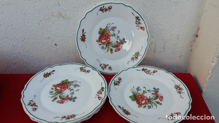 PLATOS DE POSTRE (Vintage - Decoración - Porcelanas y Cerámicas)