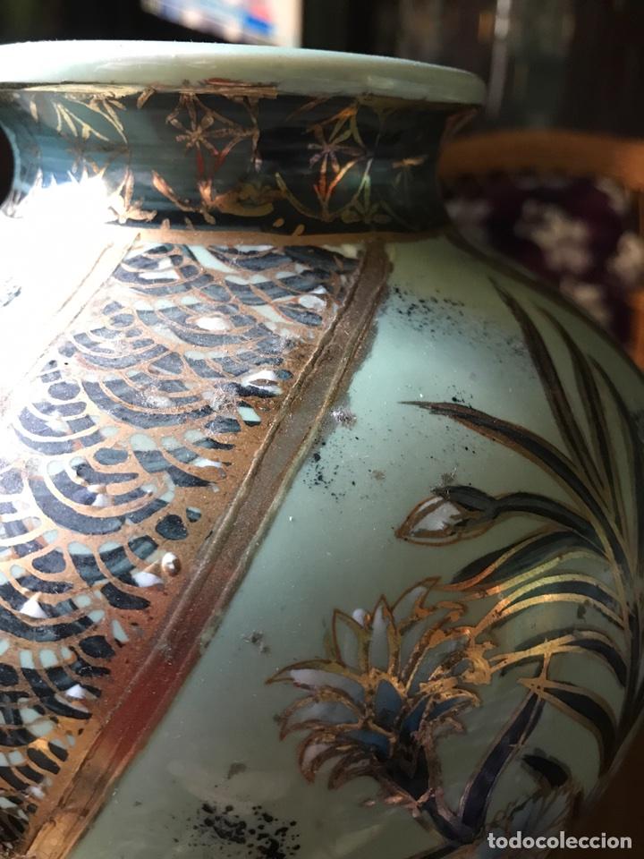 Vintage: Jarrón de porcelana China - Foto 3 - 100280358