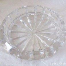 Vintage: CENICERO DE CRISTAL TALLADO. Lote 100390495