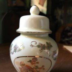 Vintage: TIBOR DE PORCELANA CHINA , JAPÓN A ESTRENAR. Lote 101137524
