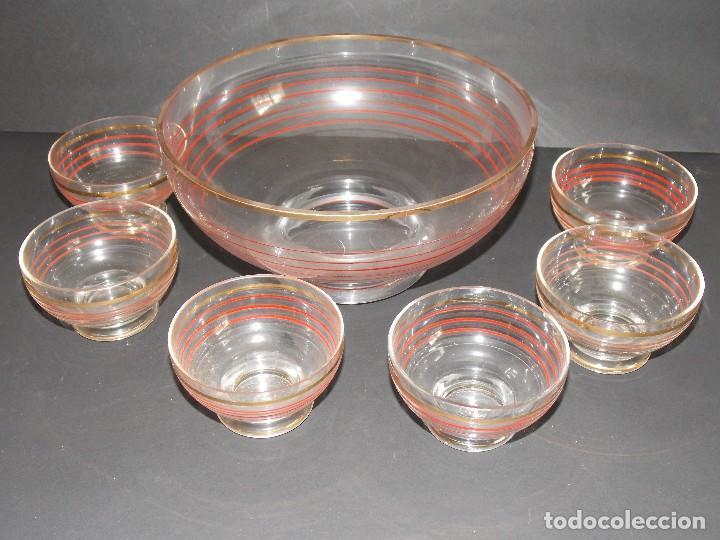 Vintage: Antigua ponchera licorera vidrio cristal VINTAGE - Foto 2 - 102073139