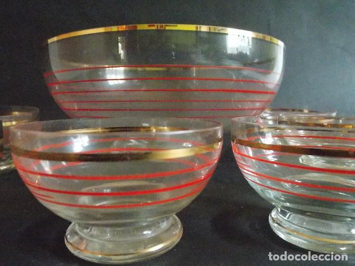 Vintage: Antigua ponchera licorera vidrio cristal VINTAGE - Foto 5 - 102073139
