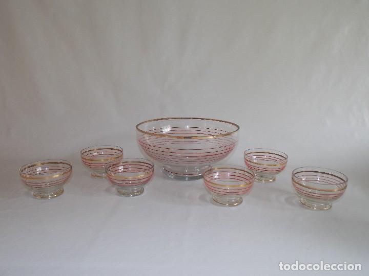 Vintage: Antigua ponchera licorera vidrio cristal VINTAGE - Foto 6 - 102073139