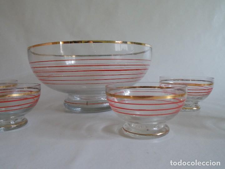 Vintage: Antigua ponchera licorera vidrio cristal VINTAGE - Foto 7 - 102073139