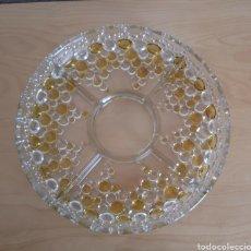 Vintage: CENTRO DE MESA WHALTHER GLASS MODELO BOLERO. WHALTHER-GLAS. Lote 102494715