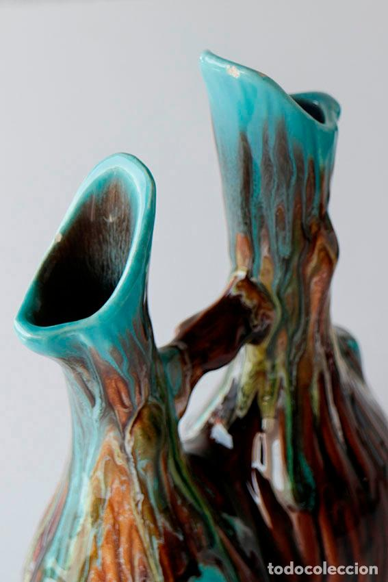 Vintage: Florero jarrón cerámica de Vallauris 1960s - Foto 3 - 102537799