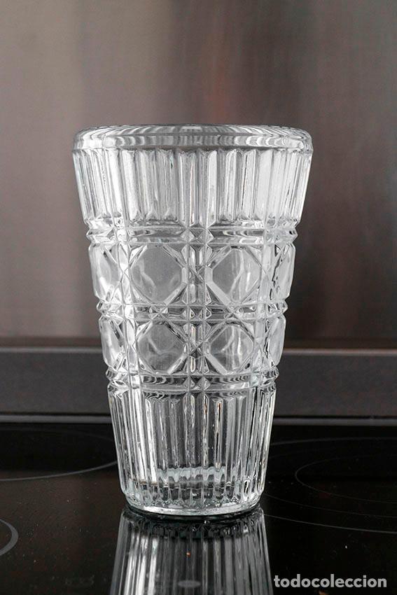 Vintage: Jarron florero de cristal años 40/50 - Foto 2 - 102538551