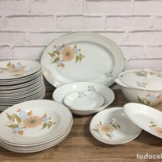 Vintage - Vajilla de porcelana de 27 piezas IBERO TANAGRA Santander años 70 - 102800754