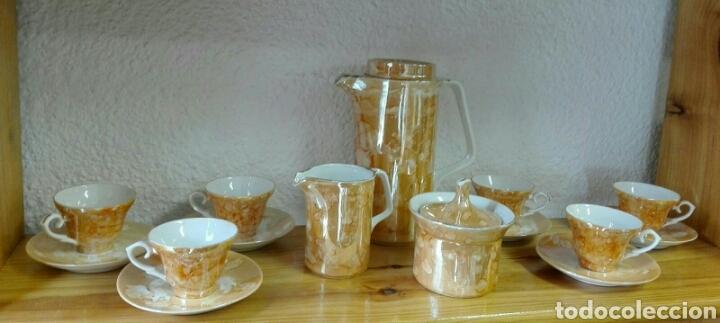 JUEGO DE CAFÉ VINTAGE. (Vintage - Decoración - Porcelanas y Cerámicas)