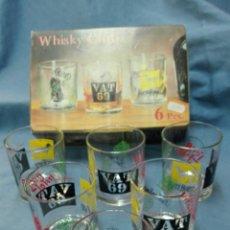 Vintage: VASOS WHISKY VINTAGE NUEVOS.. Lote 102987670