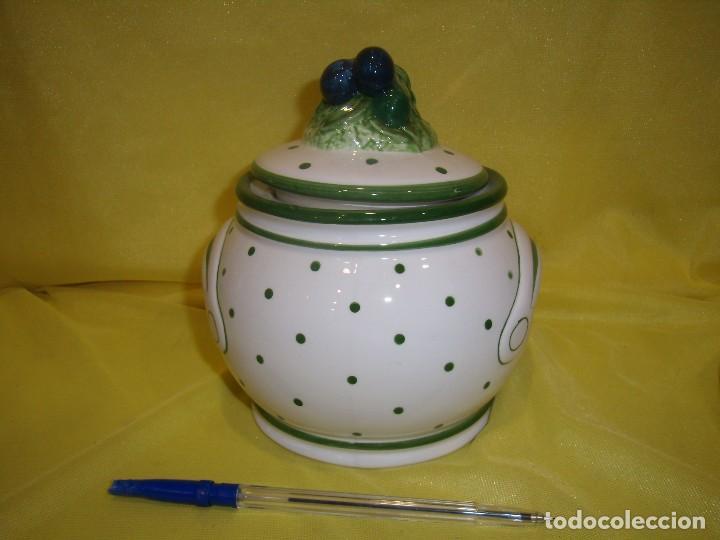 Vintage: Tarro cocina café porcelana, años 80, Nuevo sin usar. - Foto 3 - 103193411