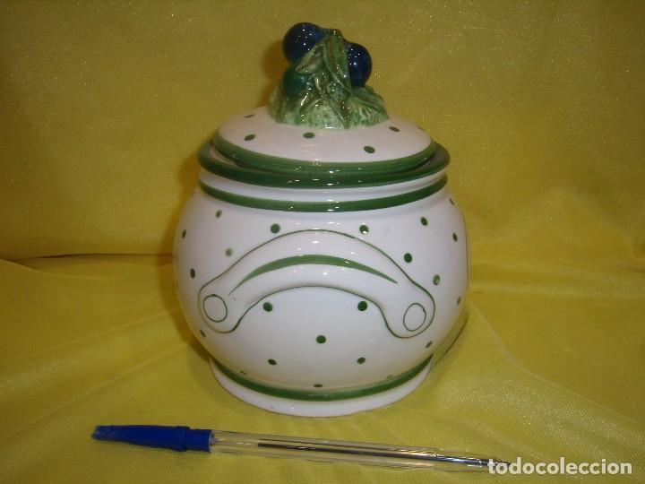 Vintage: Tarro cocina café porcelana, años 80, Nuevo sin usar. - Foto 4 - 103193411