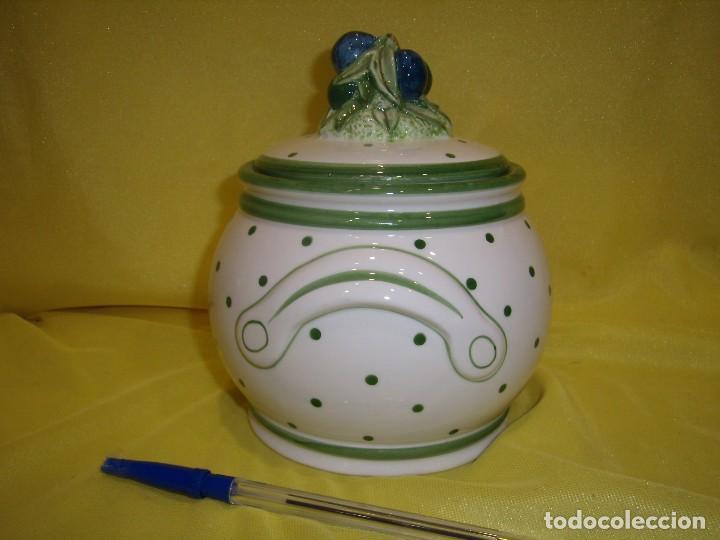 Vintage: Tarro cocina legumbres porcelana, años 80, Nuevo. - Foto 2 - 103194507