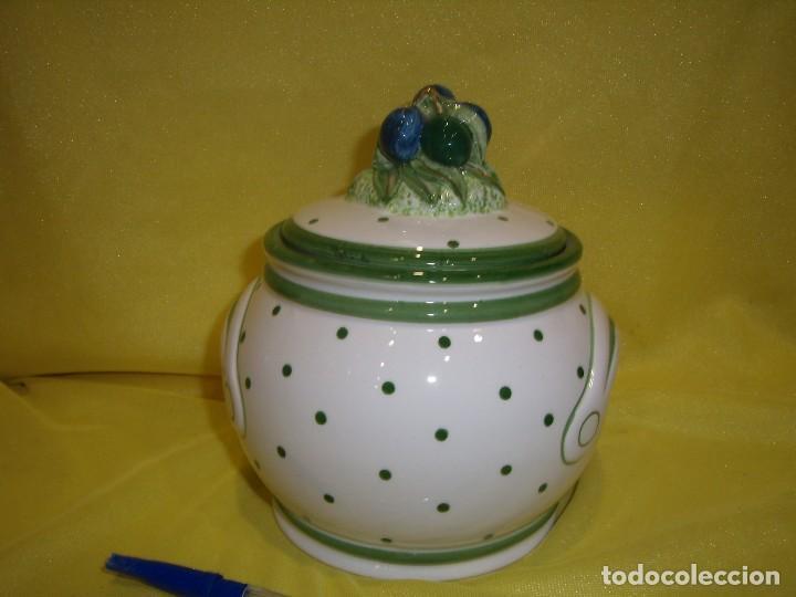 Vintage: Tarro cocina legumbres porcelana, años 80, Nuevo. - Foto 3 - 103194507
