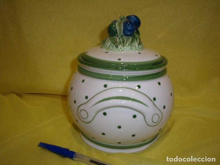 Vintage: Tarro cocina legumbres porcelana, años 80, Nuevo. - Foto 4 - 103194507