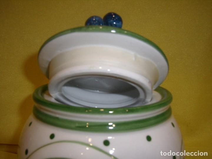 Vintage: Tarro cocina legumbres porcelana, años 80, Nuevo. - Foto 5 - 103194507