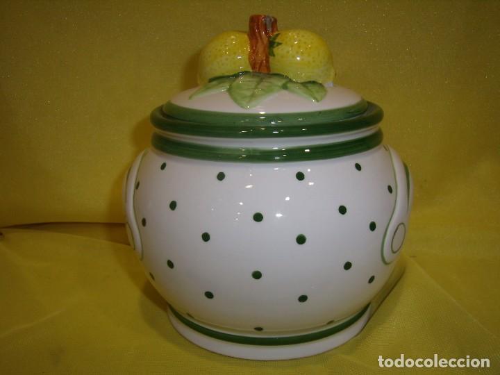 Vintage: Tarro cocina café de porcelana, años 80, Nuevo sin usar. - Foto 3 - 103194799