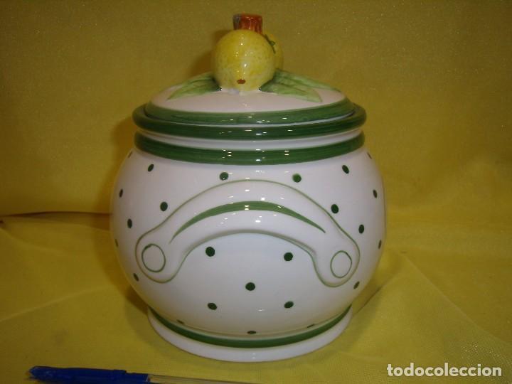 Vintage: Tarro cocina café de porcelana, años 80, Nuevo sin usar. - Foto 4 - 103194799