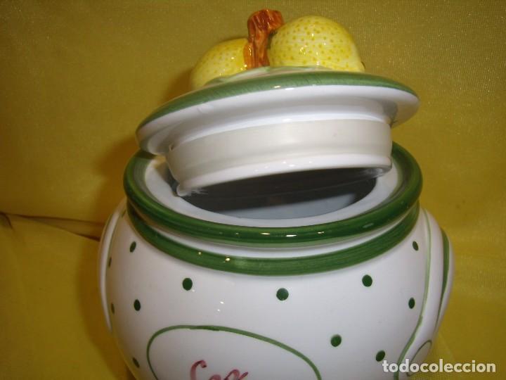 Vintage: Tarro cocina café de porcelana, años 80, Nuevo sin usar. - Foto 6 - 103194799