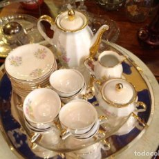 Vintage: JUEGO PARA CAFÉ COMPLETO. Lote 103307115