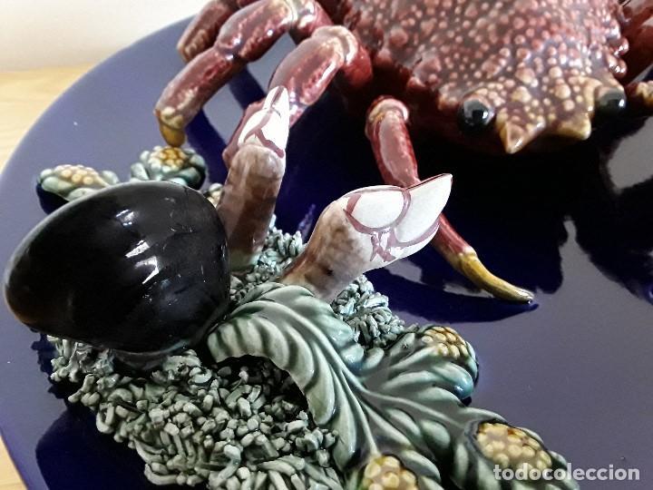 Vintage: Plato de engaño, cerámica, Centollo. Para colgar - Foto 4 - 103683679