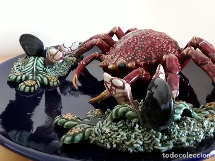 Vintage: Plato de engaño, cerámica, Centollo. Para colgar - Foto 14 - 103683679