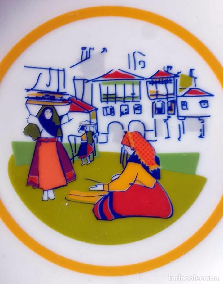 PORCELANA GALOS , GALICIA (Vintage - Decoración - Porcelanas y Cerámicas)