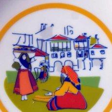 Vintage: PORCELANA GALOS , GALICIA. Lote 103788395