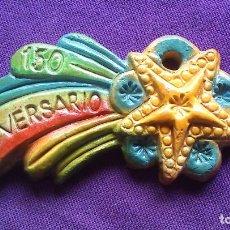 Vintage: ADORNO NAVIDEÑO LOEWE- ESTRELLA MULTICOLOR. Lote 222914081