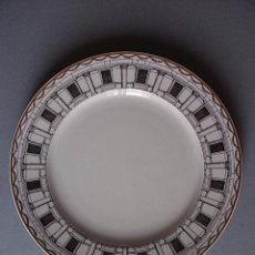Vintage: FORNASETTI ROSENTHAL PRECIOSO PLATO PORCELANA 26 CM ARCHITECTURA, NUEVO. Lote 105002231