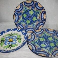 Vintage: 3 PLATOS CERAMICA. Lote 105046779