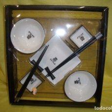 Vintage: TU Y YO MENAJE CHINO, 2 SERVICIOS, AÑOS 90, NUEVO SIN ABRIR.. Lote 105196635