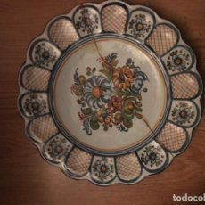 Vintage: PLATO CERAMICA EL CARMEN . Lote 107763495