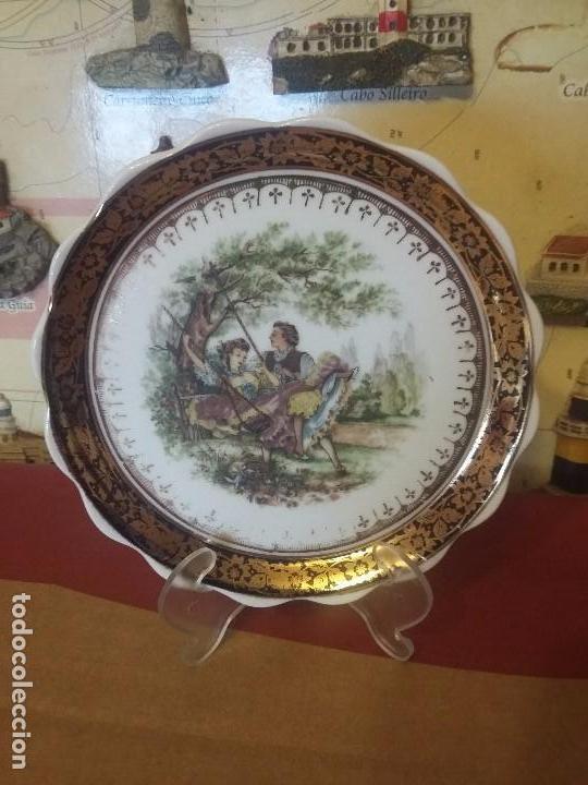 ANTIGUO PLATITO DE PORCELANA (Vintage - Decoración - Porcelanas y Cerámicas)