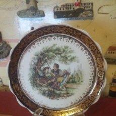 Vintage: ANTIGUO PLATITO DE PORCELANA. Lote 107785323