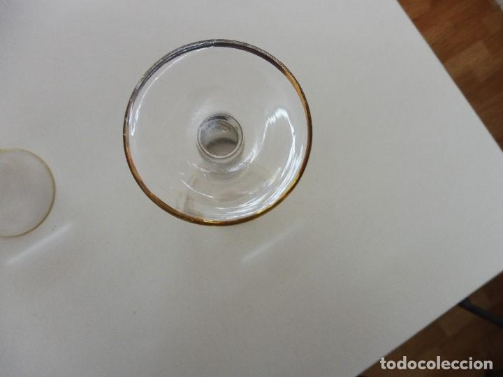 Vintage: Copa cristal recuerdo de mi 1ª primera comunión - Foto 5 - 108233223