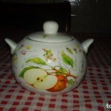 Vintage - Precioso azucarero de porcelana the leonardo collection. fine bone china. - 108911039
