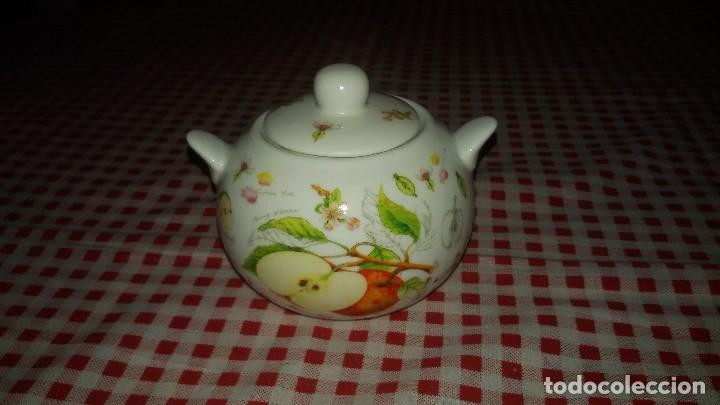Vintage: Precioso azucarero de porcelana the leonardo collection. fine bone china. - Foto 2 - 108911039
