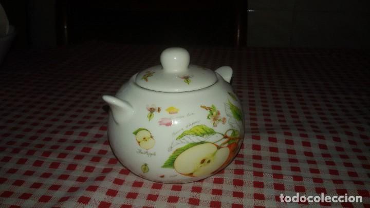 Vintage: Precioso azucarero de porcelana the leonardo collection. fine bone china. - Foto 3 - 108911039