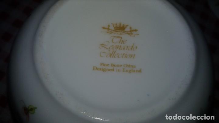 Vintage: Precioso azucarero de porcelana the leonardo collection. fine bone china. - Foto 5 - 108911039