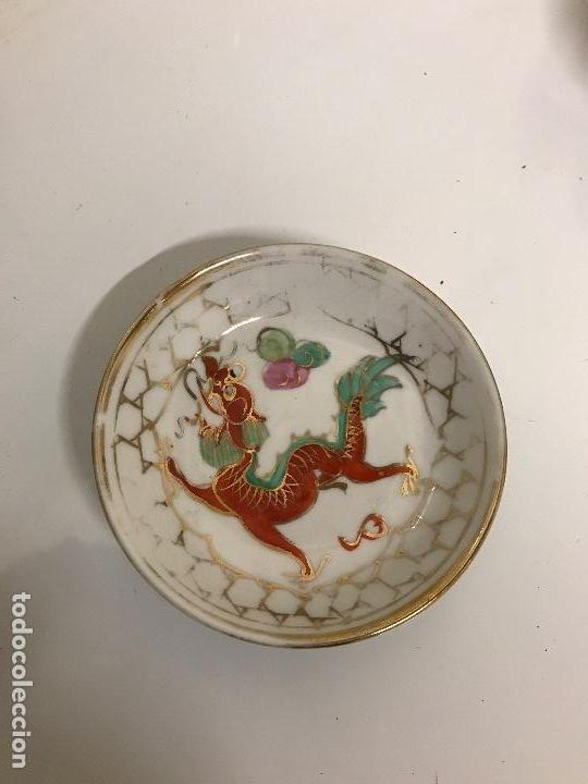 MACAU, PLATITO (Vintage - Decoración - Porcelanas y Cerámicas)