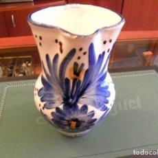 Vintage: JARRA ANTIGUA PINTADA A MANO. Lote 109791395