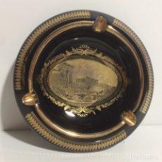 Vintage: CENICERO DE GRECI HECHO A MANO CON ORO DE 24K. Lote 109996402