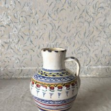 Vintage: JARRÓN PINTADO CERÁMICA POPULAR. Lote 110922491